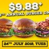 Love burgers? Chili's is serving them at just $9.88 in their 8th Burger Day celebration on July 24