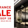 The Atlas Experience is having a Clearance Sale at Millenia Walk from September 21 – 23