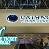 Cathay Cineplex Parkway Parade is really giving away $1 movie tickets daily from September 24 – 30