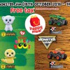 McDonald's new Happy Meal Toys have arrived: Teenie Beanie Boo's and Monster Jam