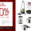 Official Tefal & WMF Year-End Sale up to 80% Off! Only on December 1 & 2 at The Grassroots' Club