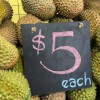 This durian place along Thomson Rd is selling MSW Durians from $5 each for a limited time