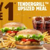 Burger King S'pore is offering 1-for-1 Tendergrill Chicken Meal from Feb 11 – 20 because Valentine's Day is here