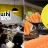 This sushi place in Yishun Town Square offers 3pc Salmon Sashimi for only $1. You can even order more than one