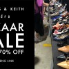Charles & Keith now having a Bazaar Sale at their building in Tai Seng. Lots of shoes up to 70% off