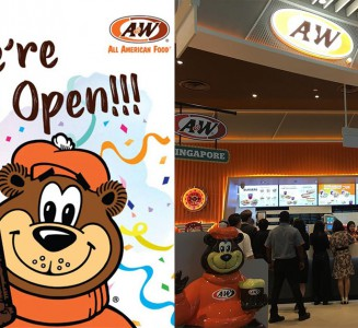 7f1b0c3e2 A W Restaurant in Jewel Changi Airport will open 24 hours daily and  Halal-certified