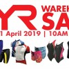 TYR Warehouse Sale from April 19 will have swimwear, activewear, triahtlon apparels & more on sale up to 80% off