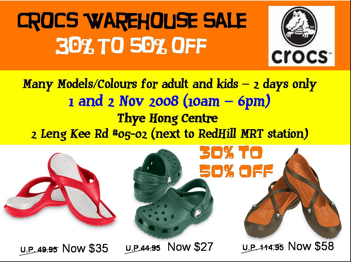 Shop discounted shoes for the entire family at the Crocs footwear clearance. Buy now! The deals don't last long.