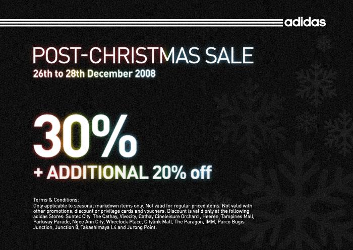 adidas christmas sale