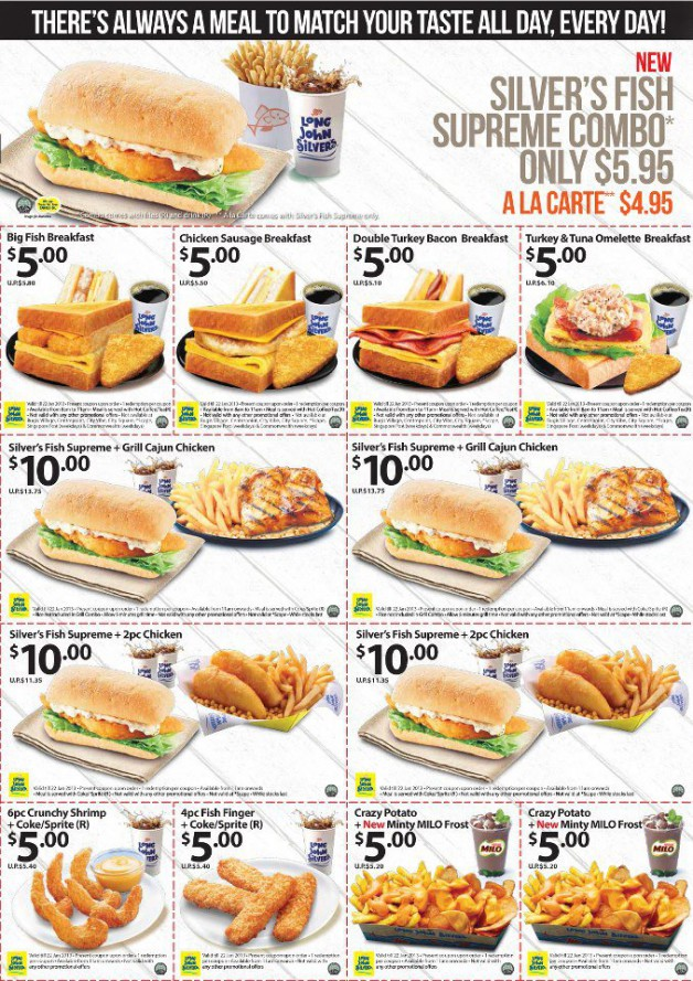 Long john silvers family meal coupons